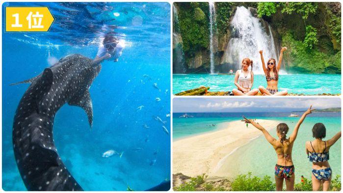 ジンベイザメと泳ぐ +スミロン島&カワサン滝ツアー