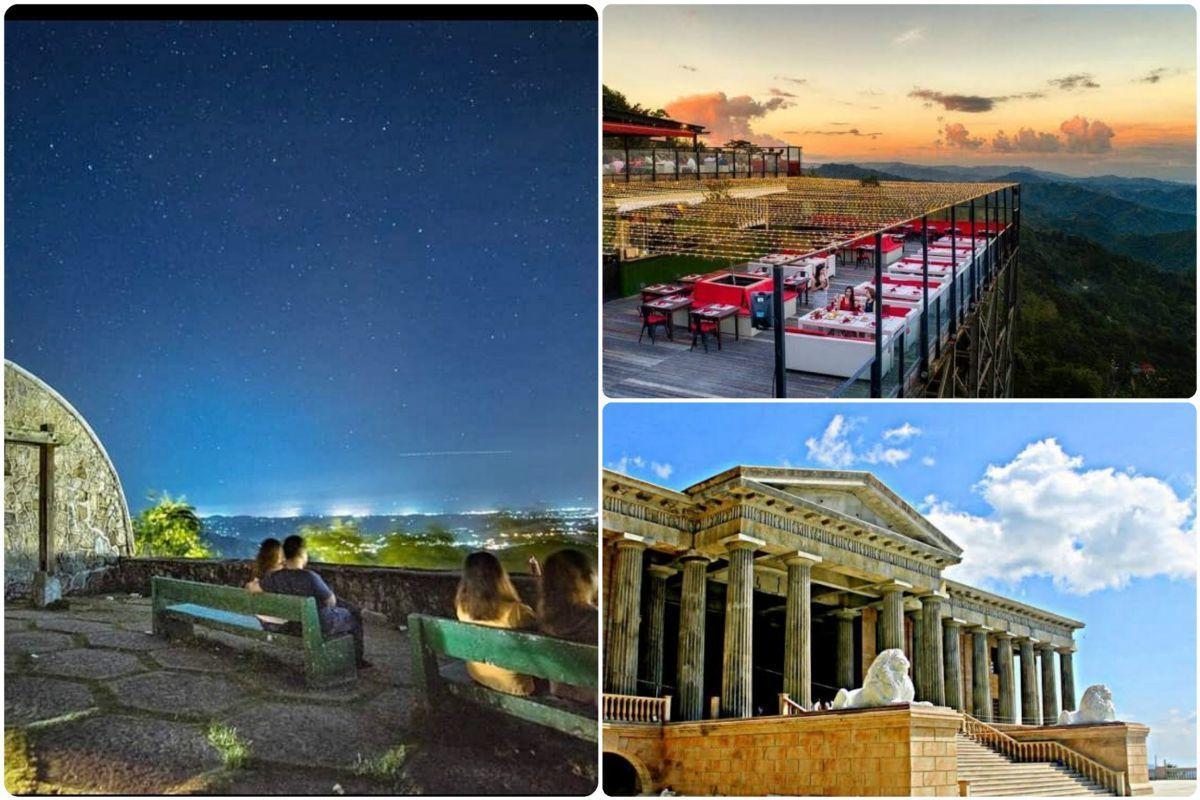 山頂からセブの美しい夕陽と夜景を堪能! TOPS周辺でのディナーとレイヤ寺院